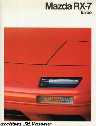 Mazda RX-7 TURBO COUPÉ / CABRIOLET