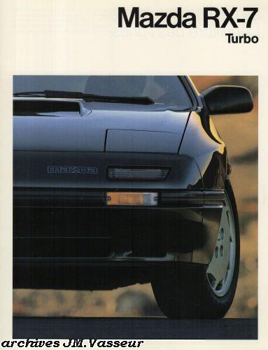 Mazda RX-7 TURBO COUPÉ