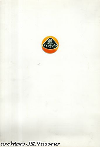 Lotus : Dossier de presse Salon de Genève 1993