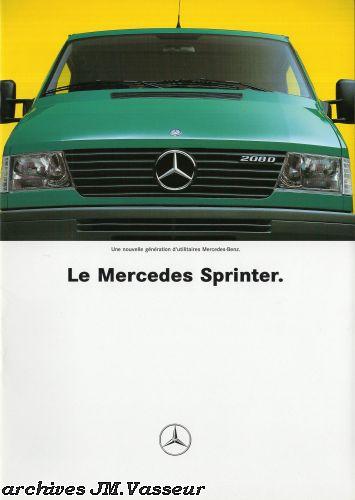 Mercedes-Benz Sprinter Fourgon