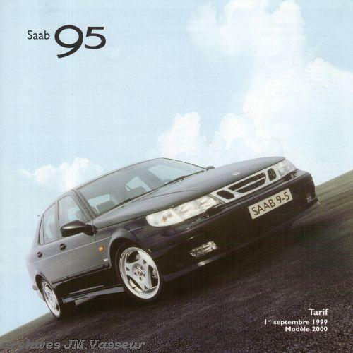 Saab 95 : Tarif AM 2000