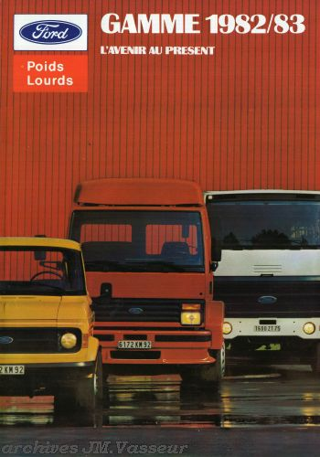 Ford Gamme Ford P.L. 1982/83