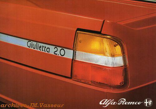 Alfa Romeo Giulietta 2.0