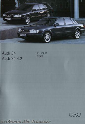 Audi S4 / S4 4.2  Berline / Avant