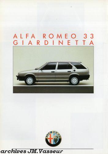 Alfa Romeo 33 GIARDINETTA