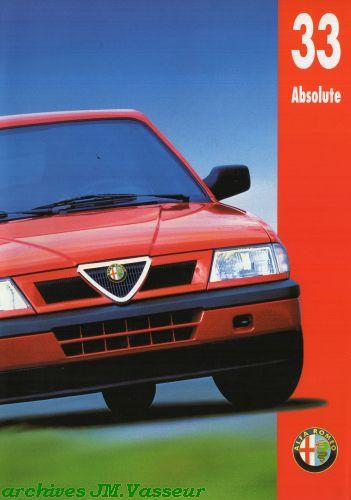 Alfa Romeo 33 ABSOLUTE