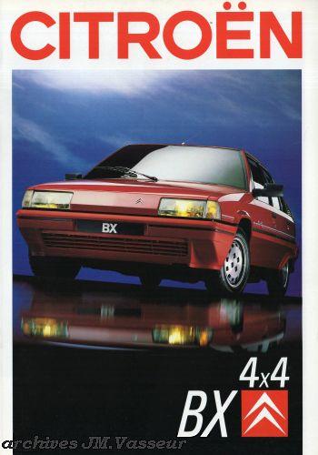 Citroën BX BERLINE / EVASION 4×4