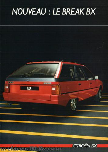 Citroën BX BREAK AM 1986
