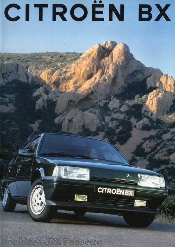 Citroën BX BERLINES / BREAKS