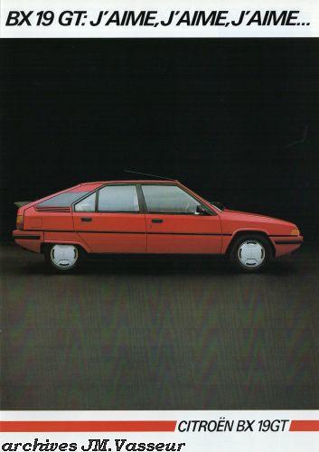 Citroën BX 19 GT AM 1985