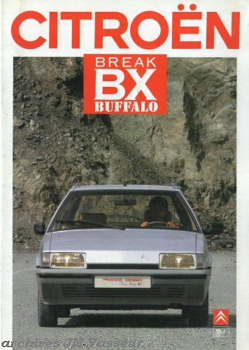 Citroën / Heuliez BX BREAK BUFFALO