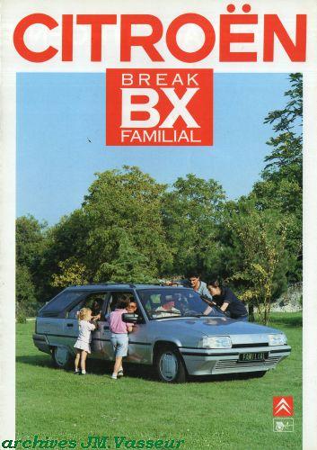 Citroën / Heuliez BX BREAK FAMILIAL