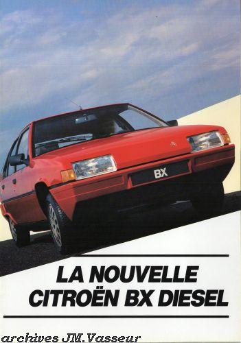 Citroën BX BERLINE DIESEL