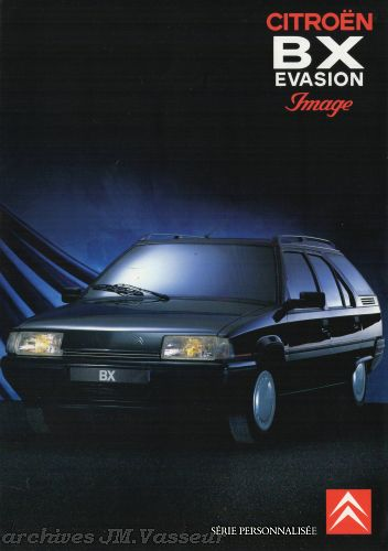 Citroën BX EVASION IMAGE