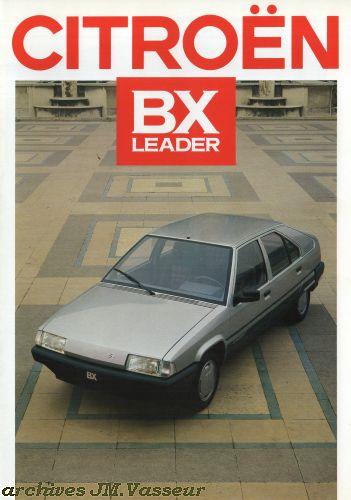 Citroën BX LEADER AM 1987