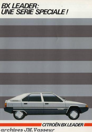 Citroën BX LEADER AM 1985