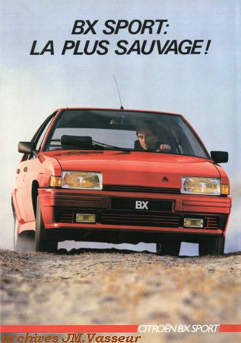 Citroën BX SPORT AM 1985