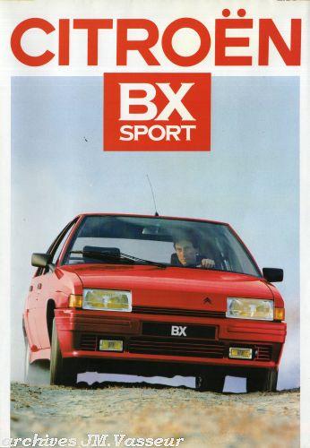 Citroën BX SPORT AM 1987