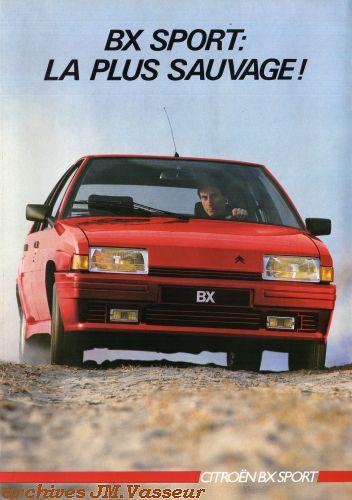 Citroën BX SPORT AM 1986