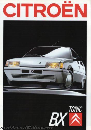 Citroën BX BERLINE TONIC