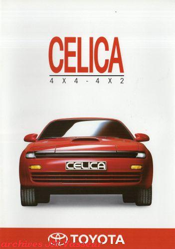 Toyota Celica 4×4 / 4×2