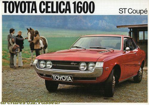 Toyota Celica 1600 ST COUPÉ