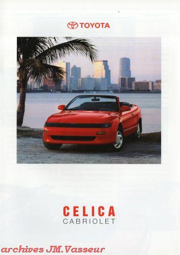 Toyota Celica CABRIOLET