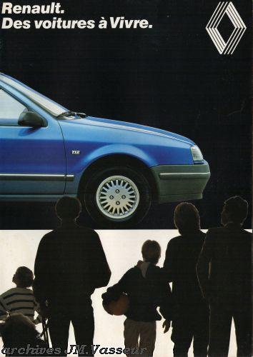 Renault Gamme Renault Suisse AM 1989