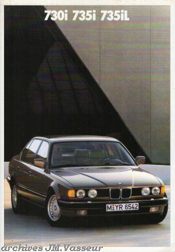 BMW 730i / 735i / 735iL