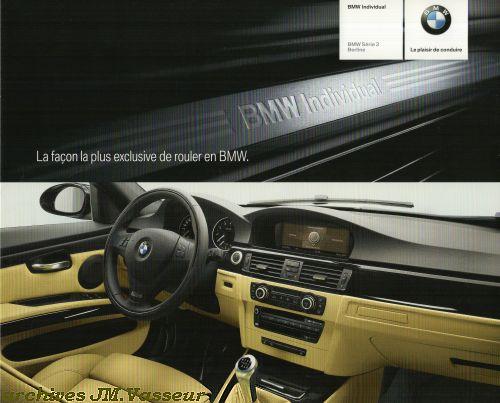 BMW Série 3 E90 BERLINE INDIVIDUAL
